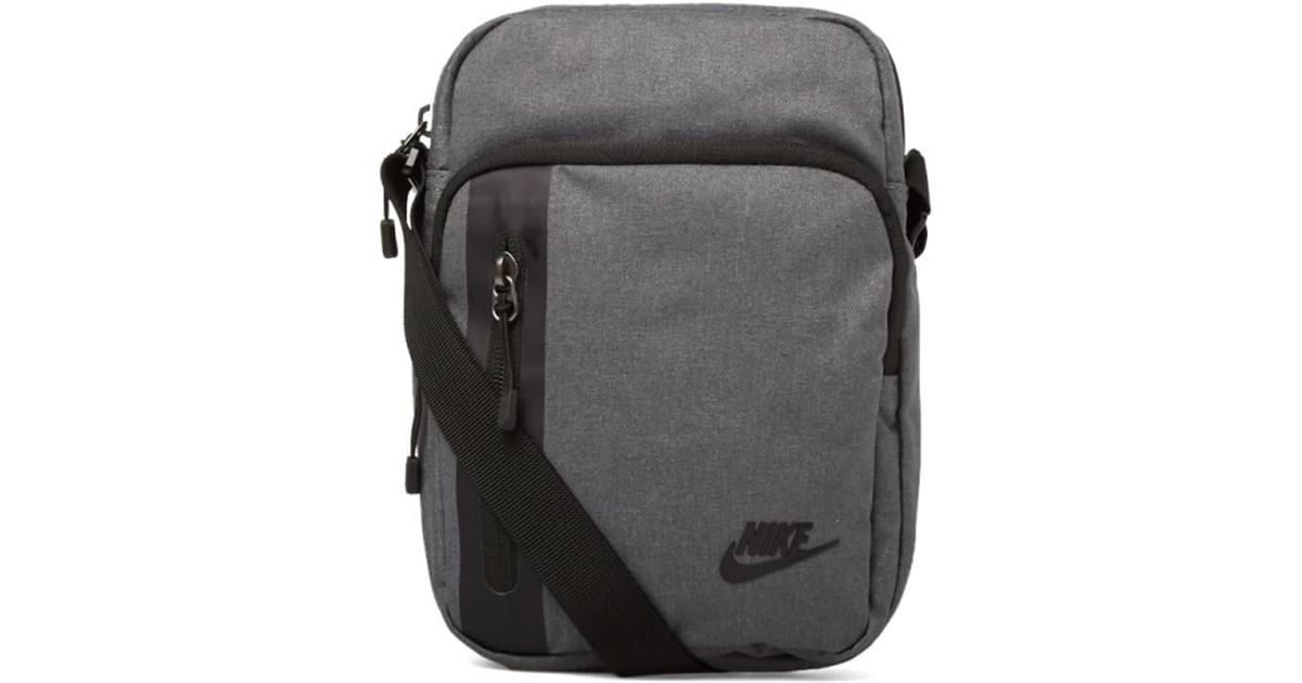 nike tech small bag in gray for men lyst