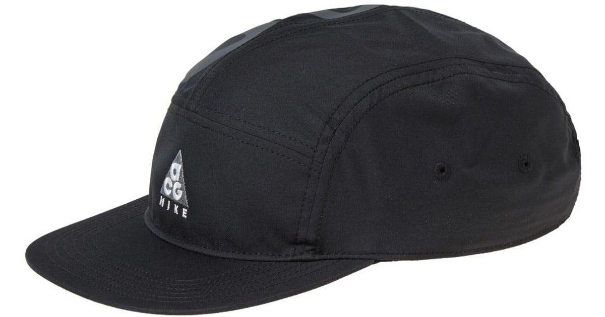 Lyst - Nike Nike Acg Dry Aw84 Cap in Black for Men c3bdbe52186