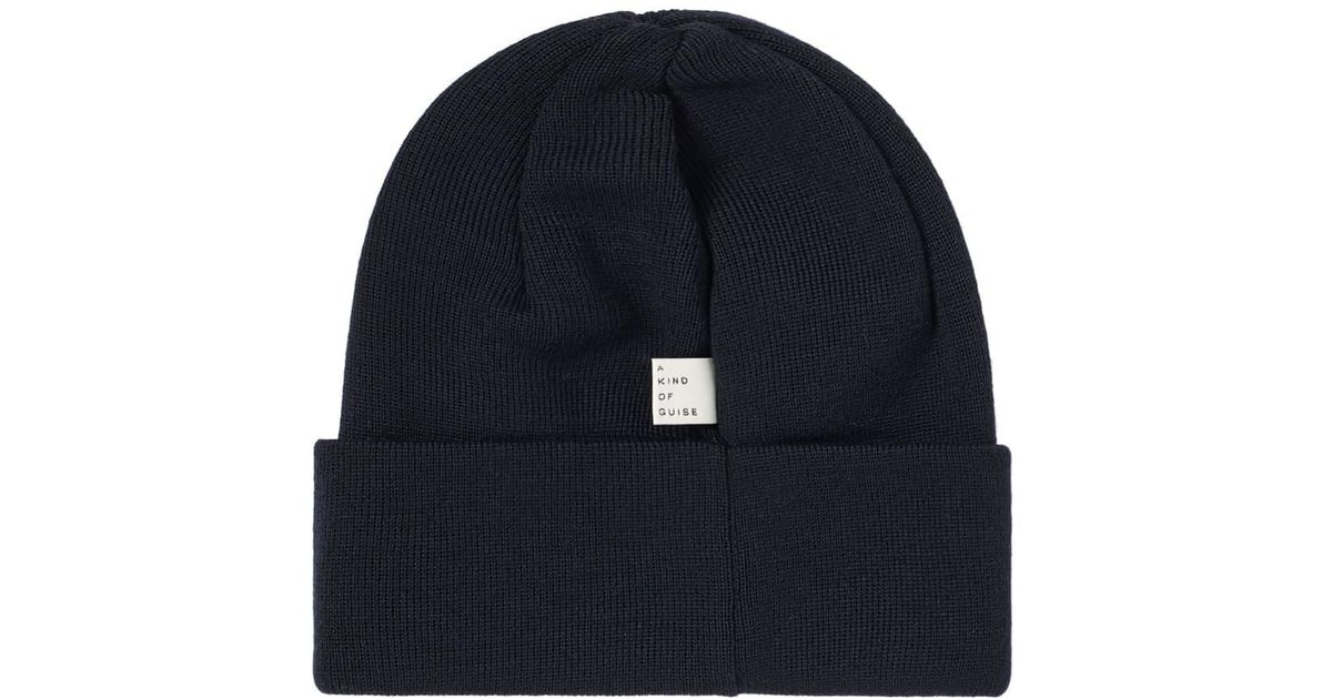 78a848c3789 Lyst - A Kind Of Guise Merino Wool Beanie in Blue for Men