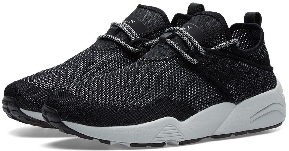 eaffca0d6 PUMA X Stampd Trinomic Woven Sock in Black for Men - Lyst