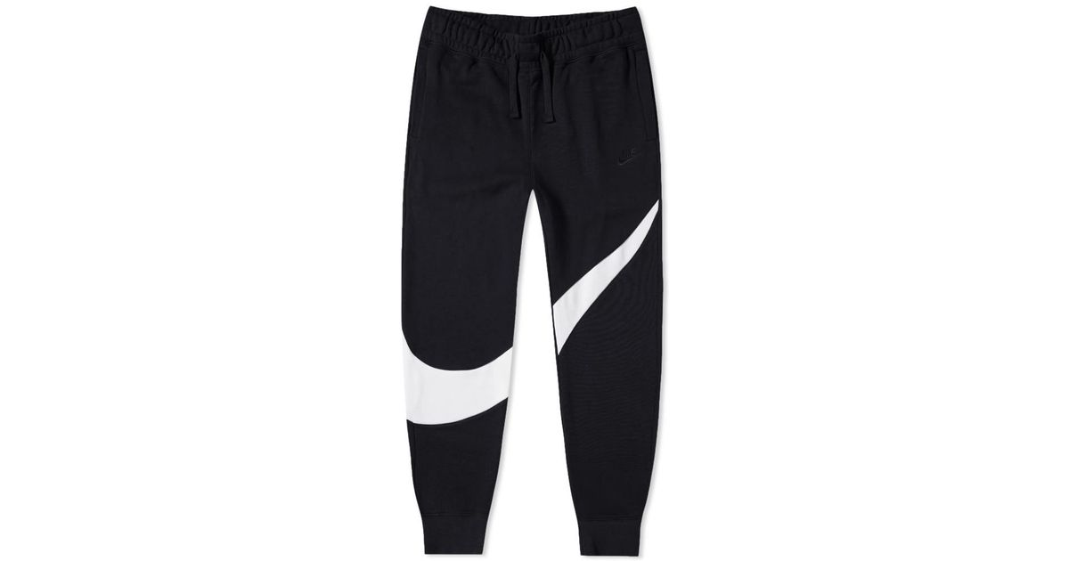 925ab90a6cba Nike Big Swoosh Jogger in Black for Men - Lyst