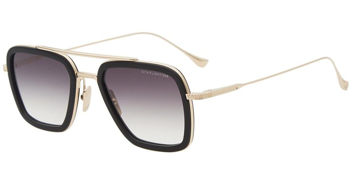 4717e5375b0b DITA Flight.006 Sunglasses in Black for Men - Lyst
