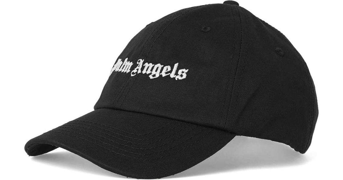 e1c612a24b1 Lyst - Palm Angels Vintage Logo Cap in Black for Men