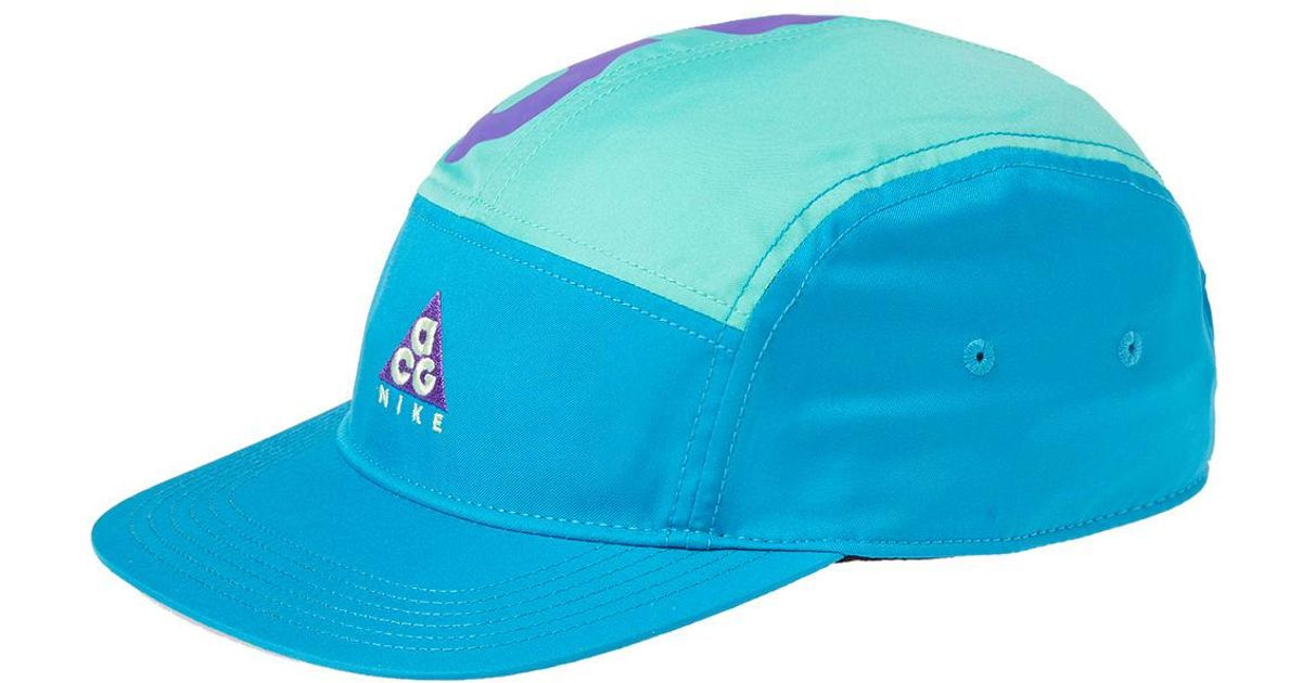 Lyst - Nike Nike Acg Dry Aw84 Cap in Blue for Men 80d11240608