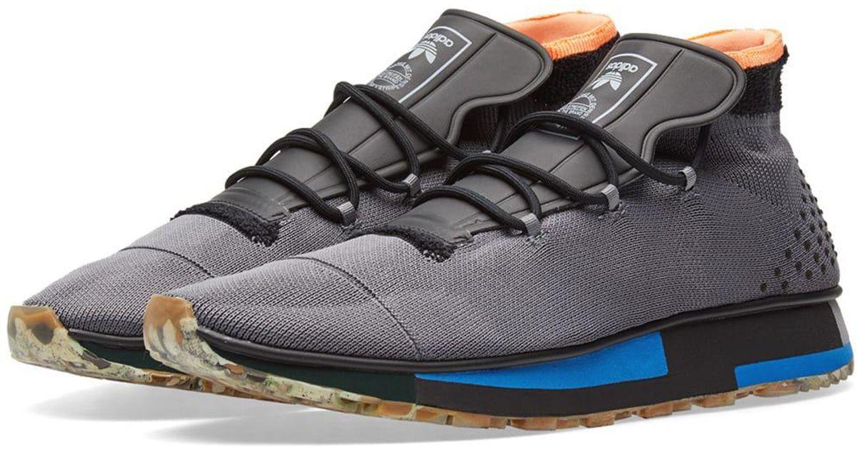 13786af085d Lyst - Alexander Wang Adidas Originals By Alexander Wang Run Mid in Black  for Men