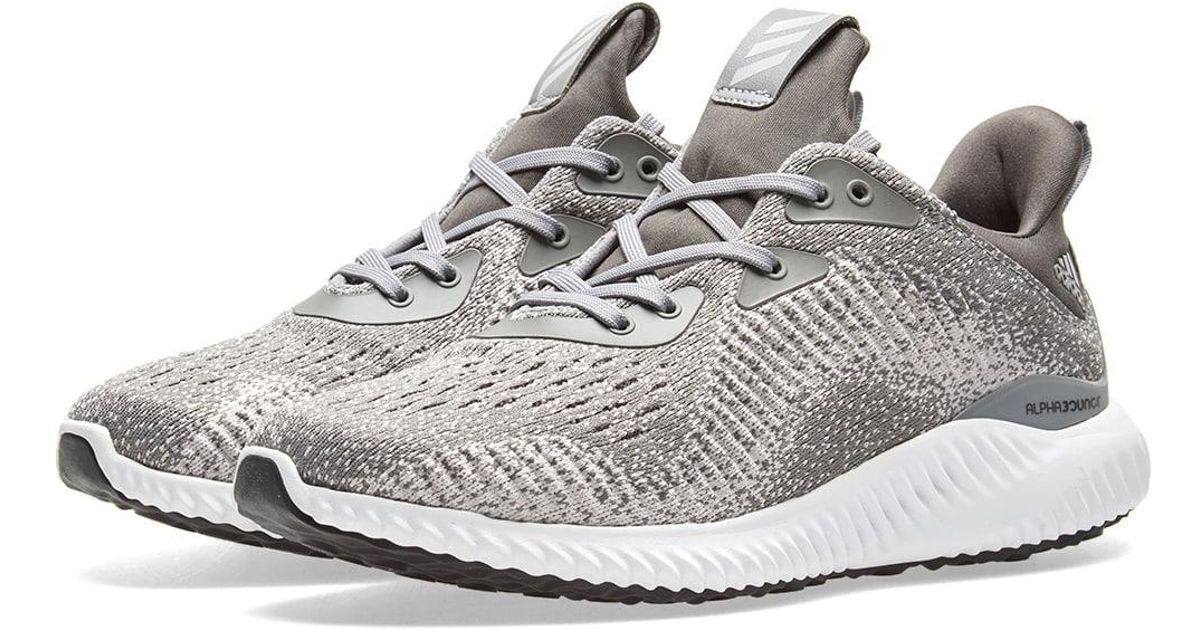 cheap for discount b021f b3451 Lyst - adidas Alphabounce Em in Gray for Men