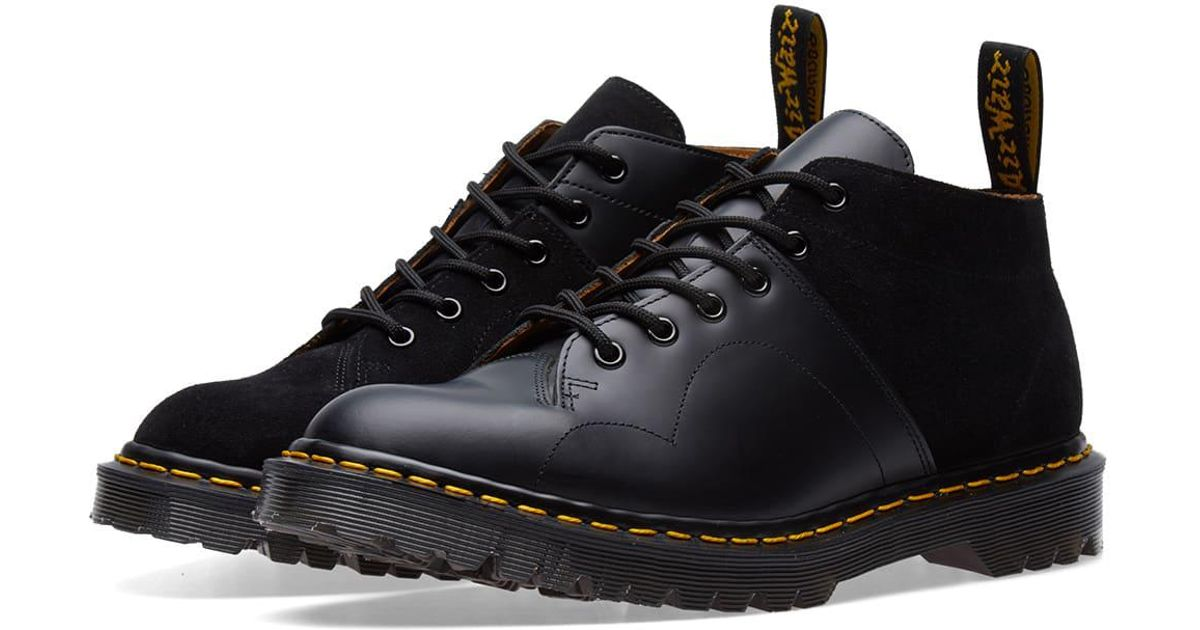 72d1a1aeb4 Dr. Martens Dr. Martens X Engineered Garments Monkey Church Contrast Monkey  Boot in Black for Men - Lyst