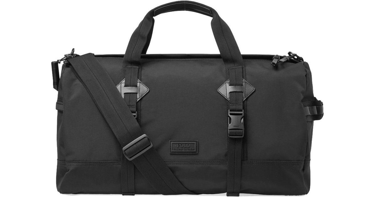 fb55d87d08ab Lyst - Polo Ralph Lauren City Explorer Duffle Bag in Black for Men