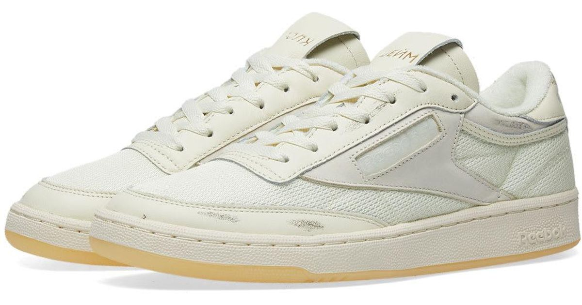 985bf1de5d7 Lyst - Reebok X Walk Of Shame Club C 85 in White for Men