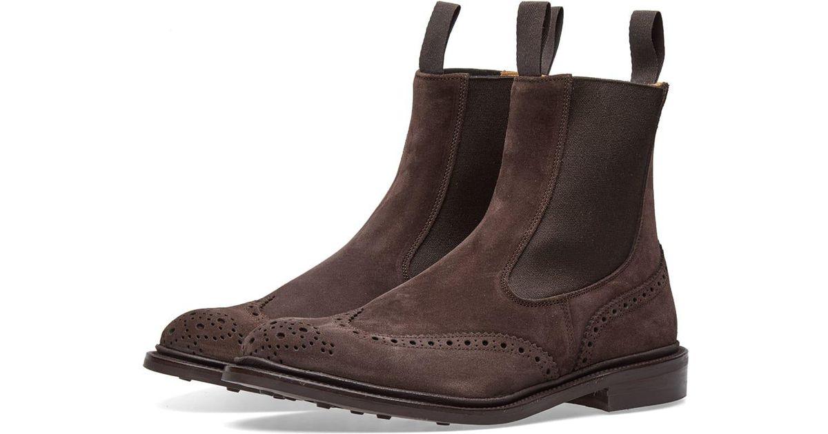 05641610c4e9b Tricker s - Brown Tricker s Henry Chelsea Boot for Men - Lyst