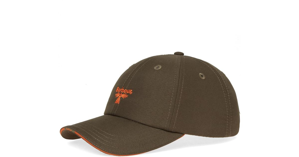 afd1297d Barbour Fairfield Sports Cap in Green for Men - Lyst