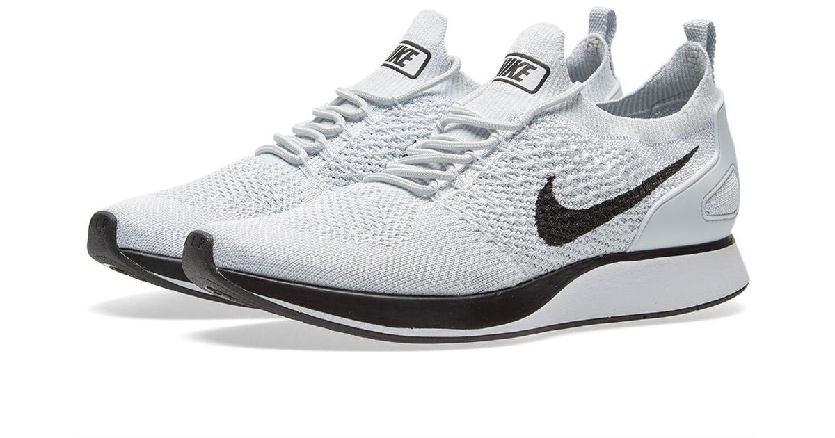 843839f2bba Lyst - Nike Air Zoom Mariah Flyknit Racer in White for Men