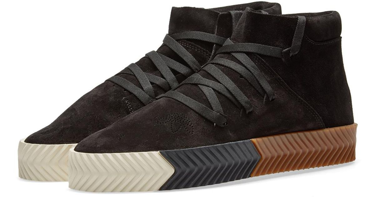 sports shoes 1025c d03bf Lyst - Alexander Wang Adidas Originals By Alexander Wang Skate Mid in Black