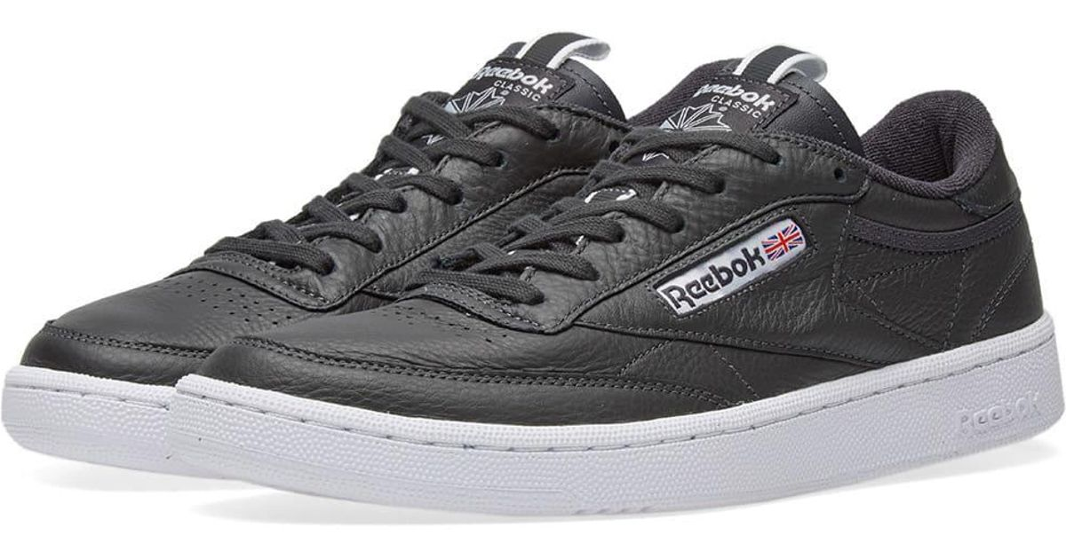 70daf2db43d Lyst - Reebok Club C 85 Rt in Black for Men