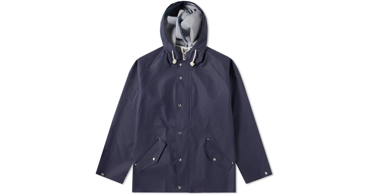 Norse Projects X Elka Anker Rain Jacket in Blue for Men - Lyst 18eb62d1f576