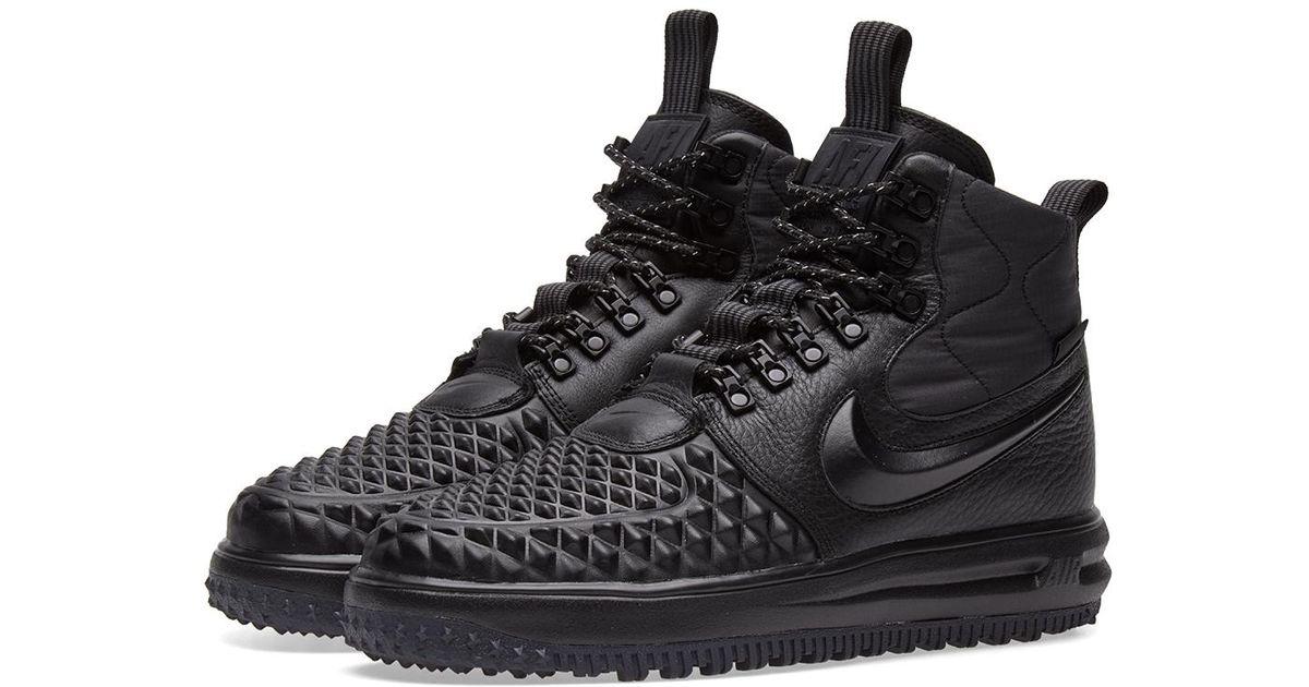 729e2d9fefebd Lyst - Nike Lunar Force 1 Duckboot  17 in Black for Men