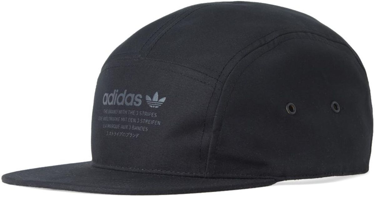 afe501a70f524 ... norway adidas originals nmd 5 panel cap in black for men lyst bad89  73109