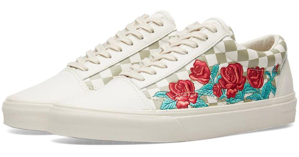 Vans Old Skool Dx Rose Embroidery for Men - Lyst 37355300e