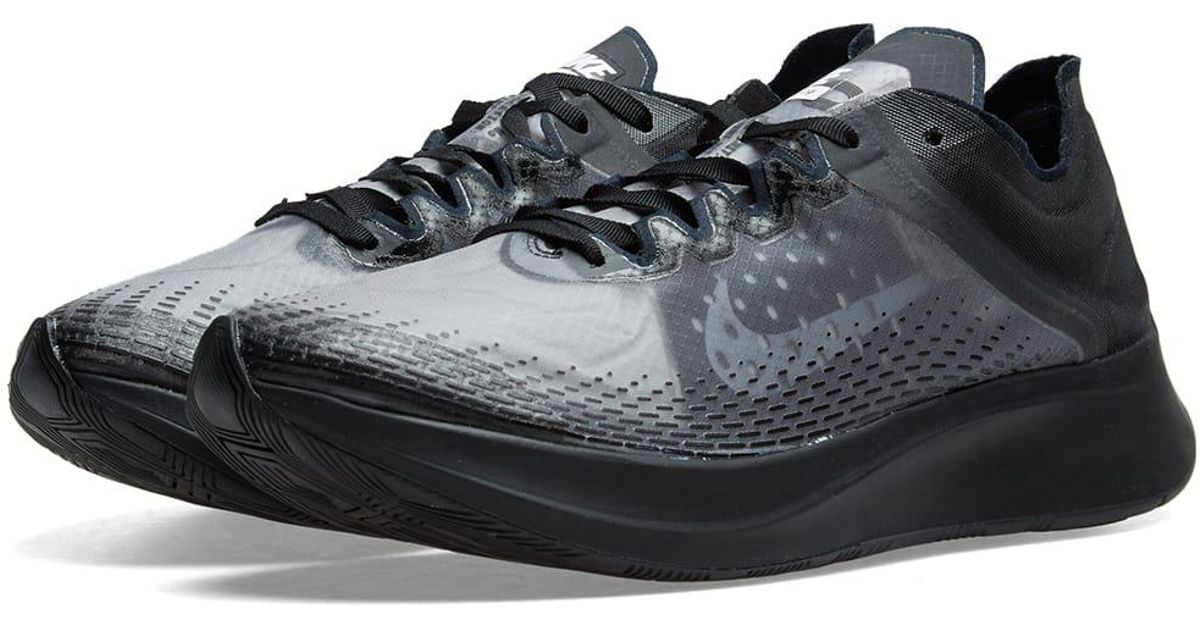 ce0750c9f Nike Zoom Fly Sp Fast in Black - Lyst