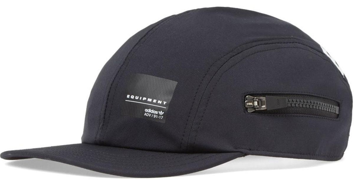 e48a6ca2625 Lyst - adidas Eqt Zip Cap in Black for Men