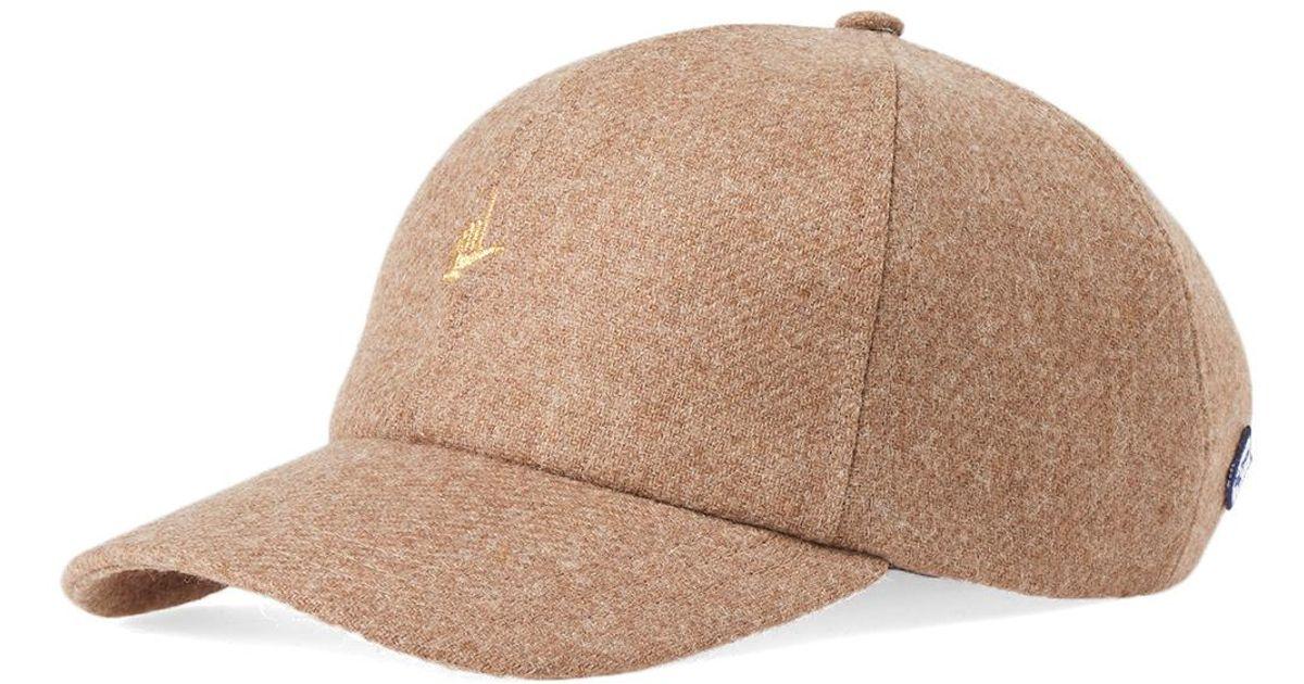 2aa4b240550 Lyst - Larose Paris L Hand Embroidery Baseball Cap in Brown for Men