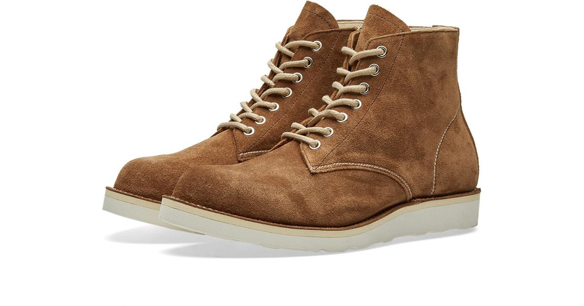 a3235a59ac1 Sophnet - Brown 7 Hole Nubuck Boot for Men - Lyst