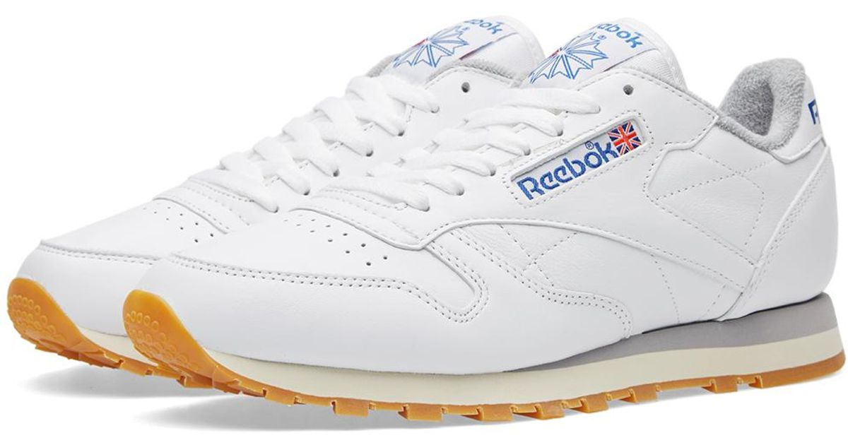 07a502d3412 Lyst - Reebok Classic Leather R12 in White for Men