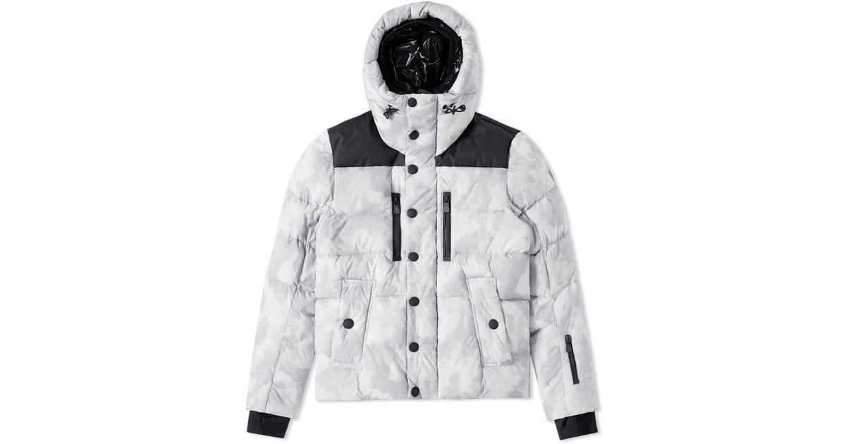 9c7c945ec Moncler - Gray Grenoble Rodenberg Jacket for Men - Lyst