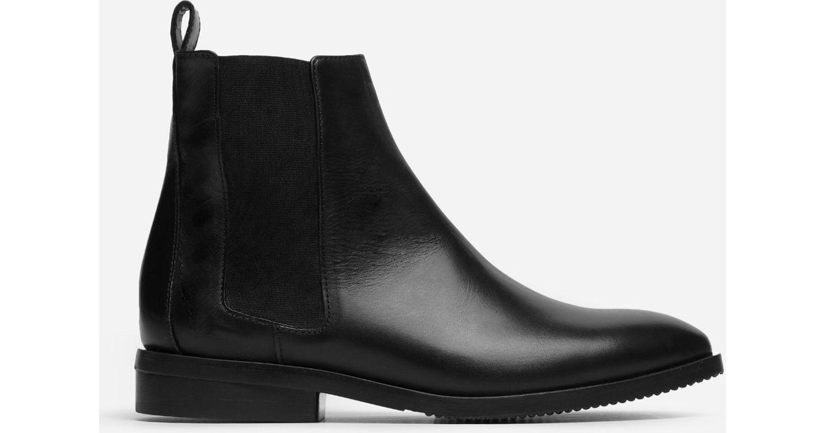 e9e53d176 Everlane The Modern Chelsea Boot in Black - Lyst