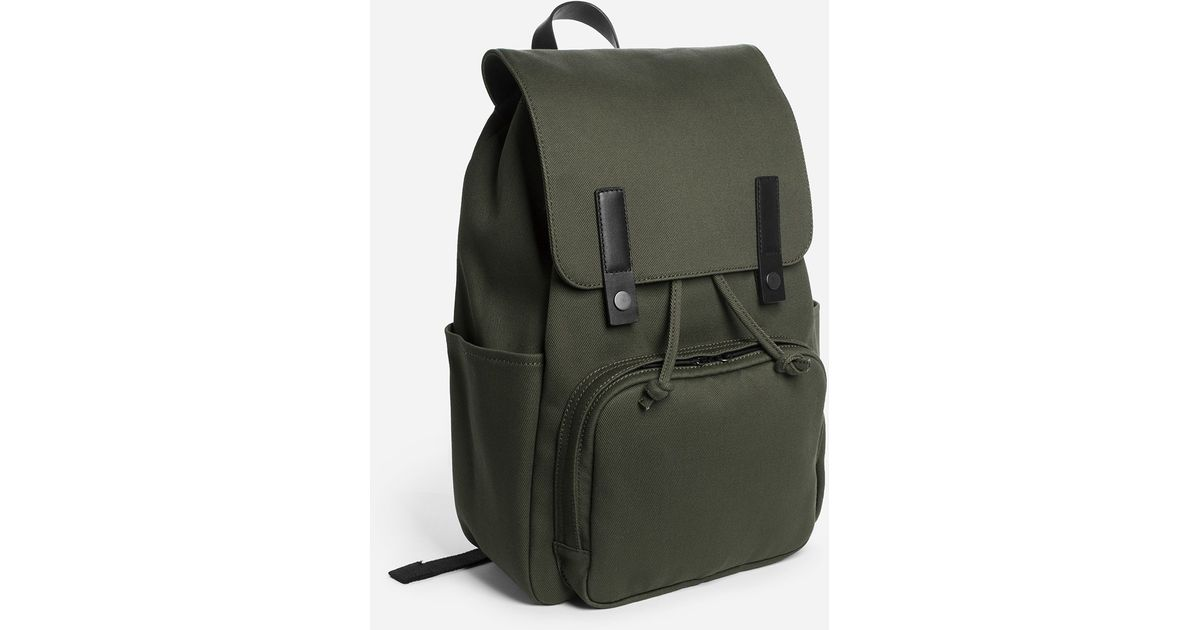 Lyst - Everlane The Modern Snap Backpack in Green for Men 2905b2a776168