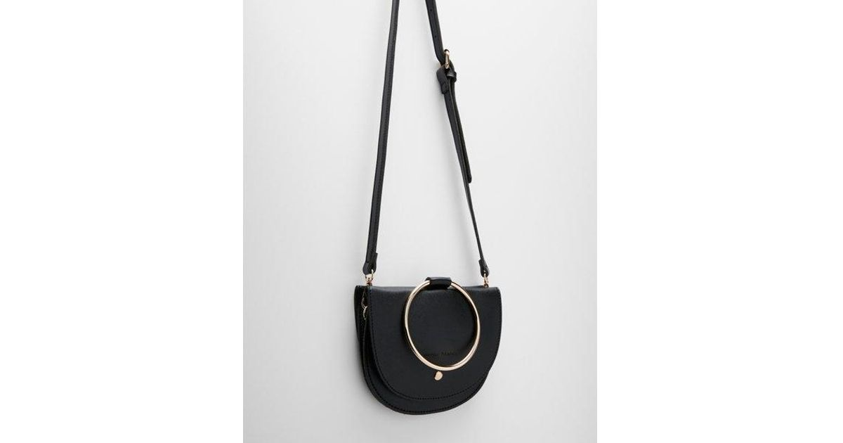 6fdf1c81c5e Express Melie Bianco Felix Crossbody Bag in Black - Lyst