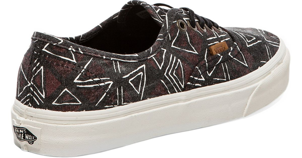 Lyst - Vans California Authentic Geo Tribe in Black for Men 7cba02661