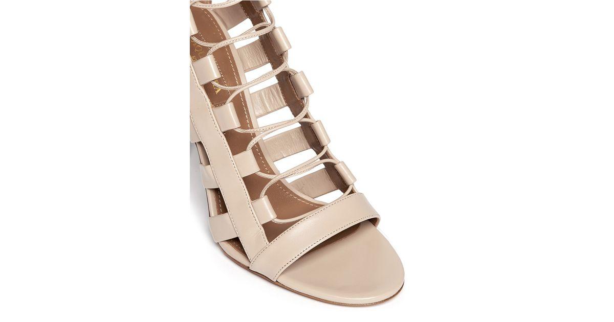 Aquazzura Amazon 105 Cage Sandals nicekicks cheap price factory outlet online QrLK8