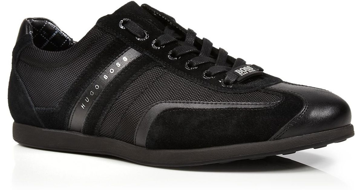 37a5f23355e Lyst - HUGO Boss Boss Stiven Sneakers in Black for Men