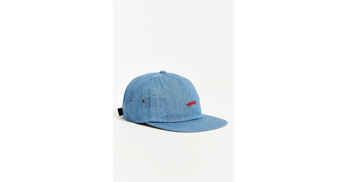 Lyst - Vans Salton Denim Hat in Blue for Men 81954c9e0b0a