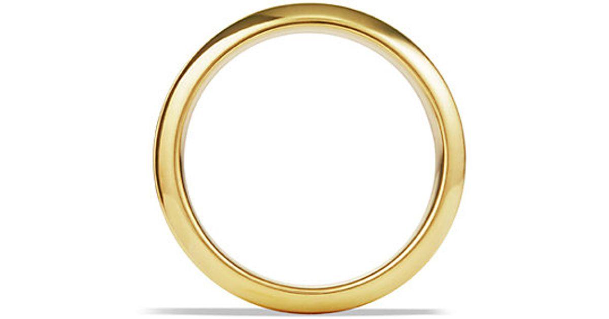 011809dd300902 David Yurman Royal Cord Knife-edge Band Ring In Gold in Metallic for Men -  Lyst