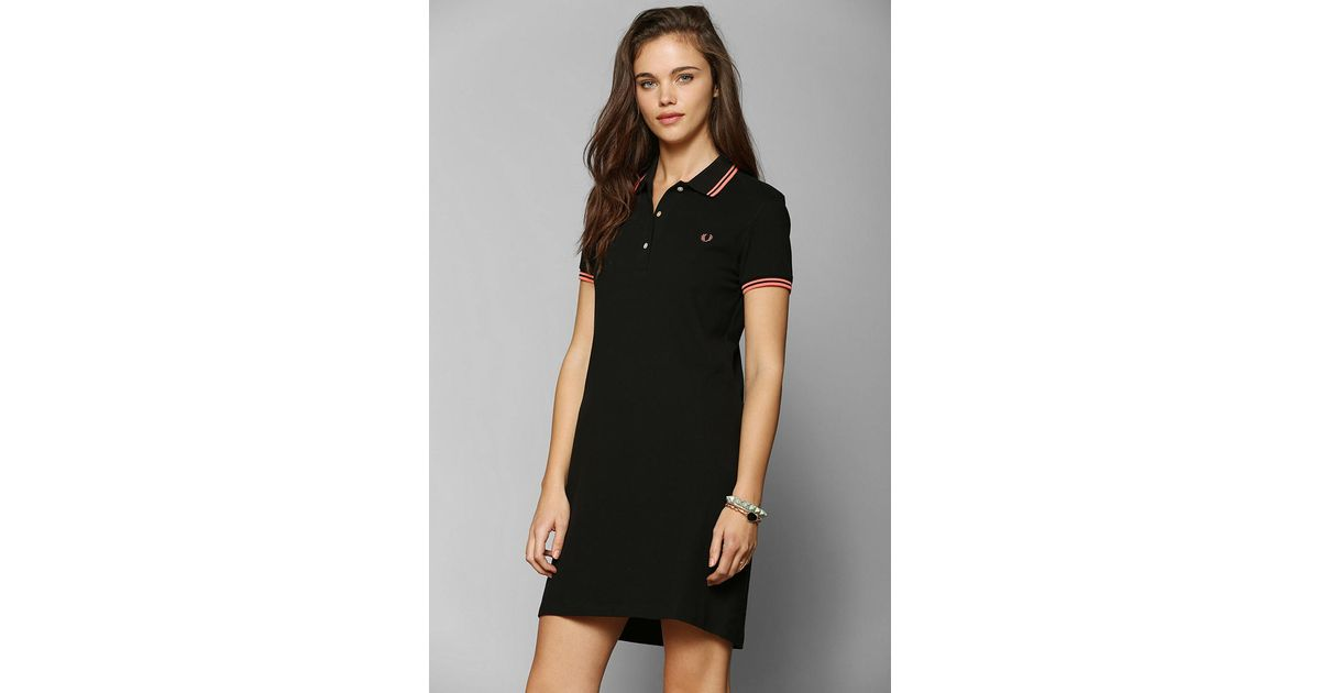 fred perry polo ralph lauren one shoulder dress
