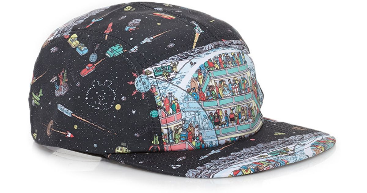 f93ced8c076 Lyst - Forever 21 Waldo Graphic Five-panel Hat in Black for Men