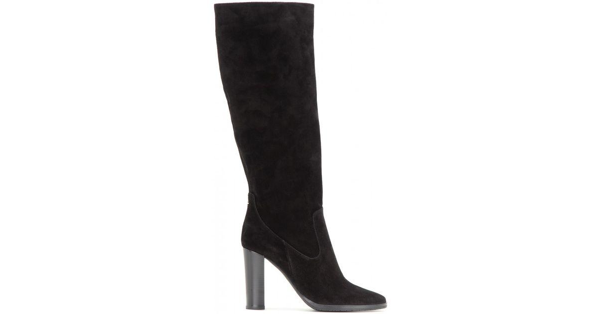 Jimmy choo Knee Boots Darwin 85 leather claret SMhCzAcM