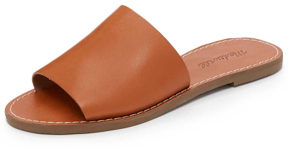 5fb7c220dbbe Lyst - Madewell Boardwalk Slide Sandals
