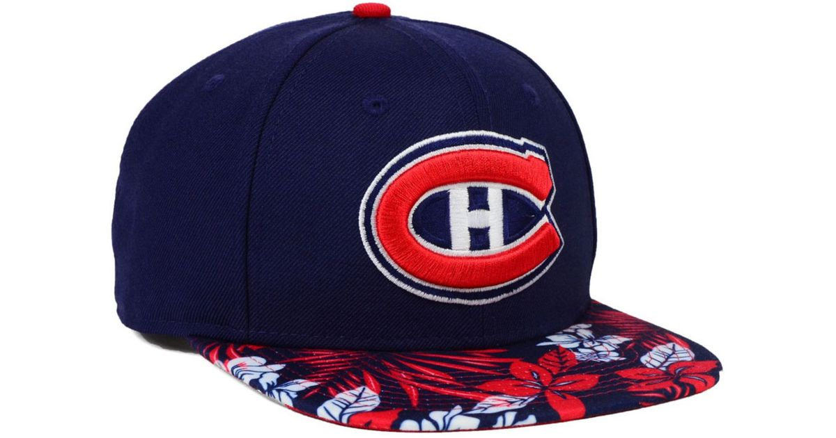 low priced 8edf1 a1602 Lyst - KTZ Montreal Canadiens Wowie 9fifty Snapback Cap in Blue for Men