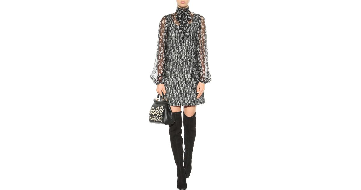 db5f6e029ef Nicholas Kirkwood Polly Petal Over-The-Knee Boots in Black - Lyst