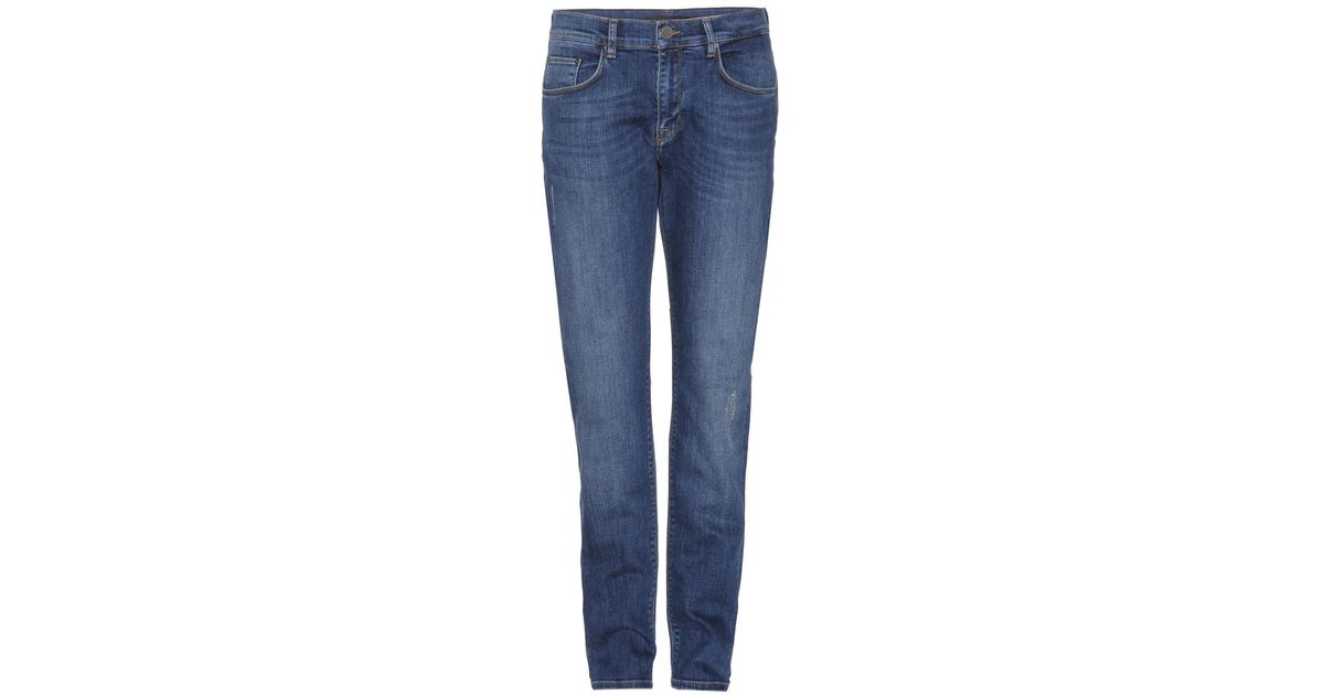 Victoria Beckham Boyfriend Jeans In Blue - Save 41% | Lyst