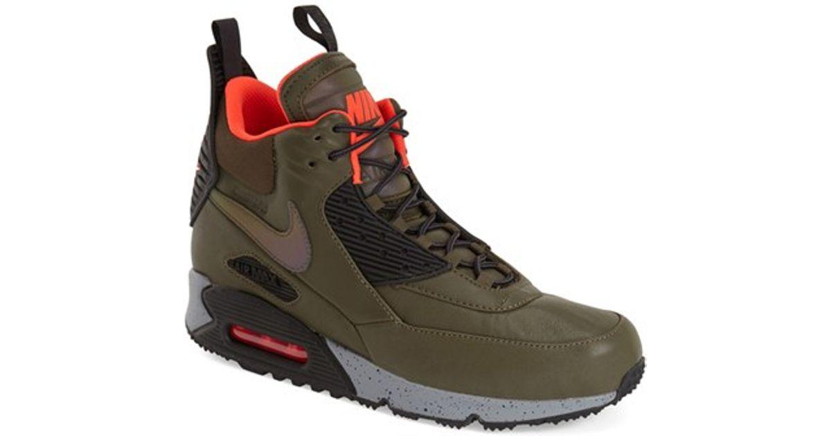 90 High Green In Nike For Top Winter Air Men Max Lyst Sneakers Jc3FTlKu1