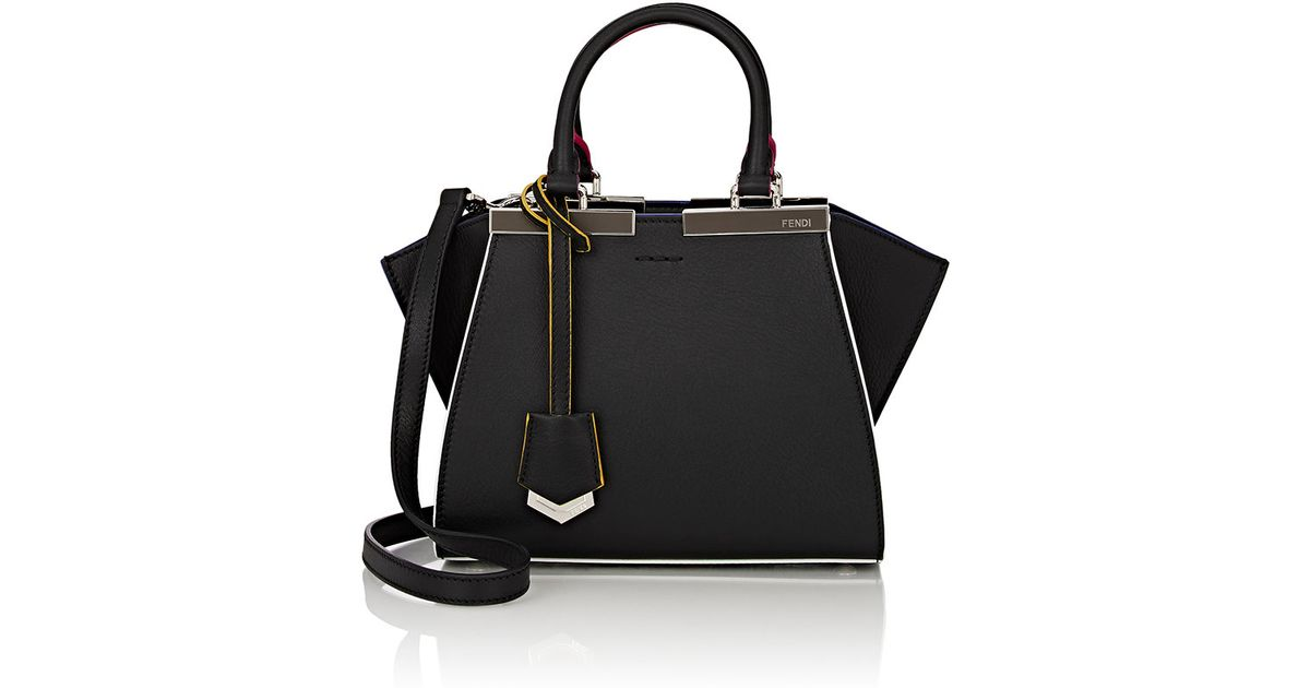 Fendi 3jours Mini-satchel in Black - Lyst 15777754763dc
