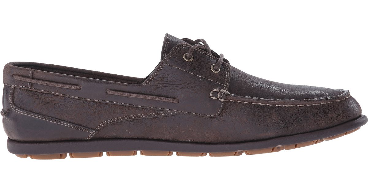 Rockport Bennett Lane 3 Boat In Brown For Men Lyst