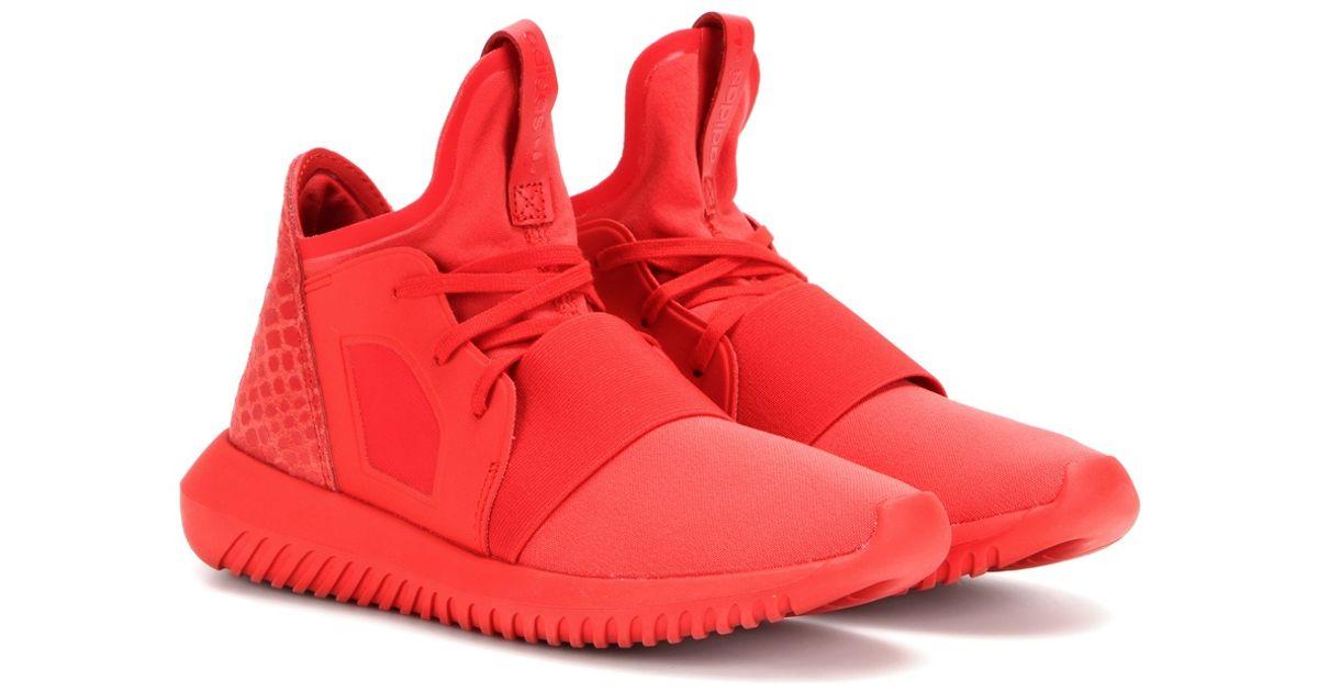adidas tubular defiant red