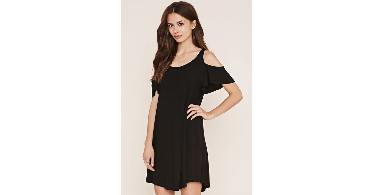 Forever 21 Contemporary A Line Dress In Black Lyst