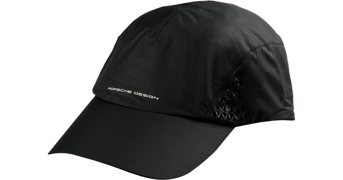 9cc690e886053 Porsche Design Hat in Black for Men - Lyst