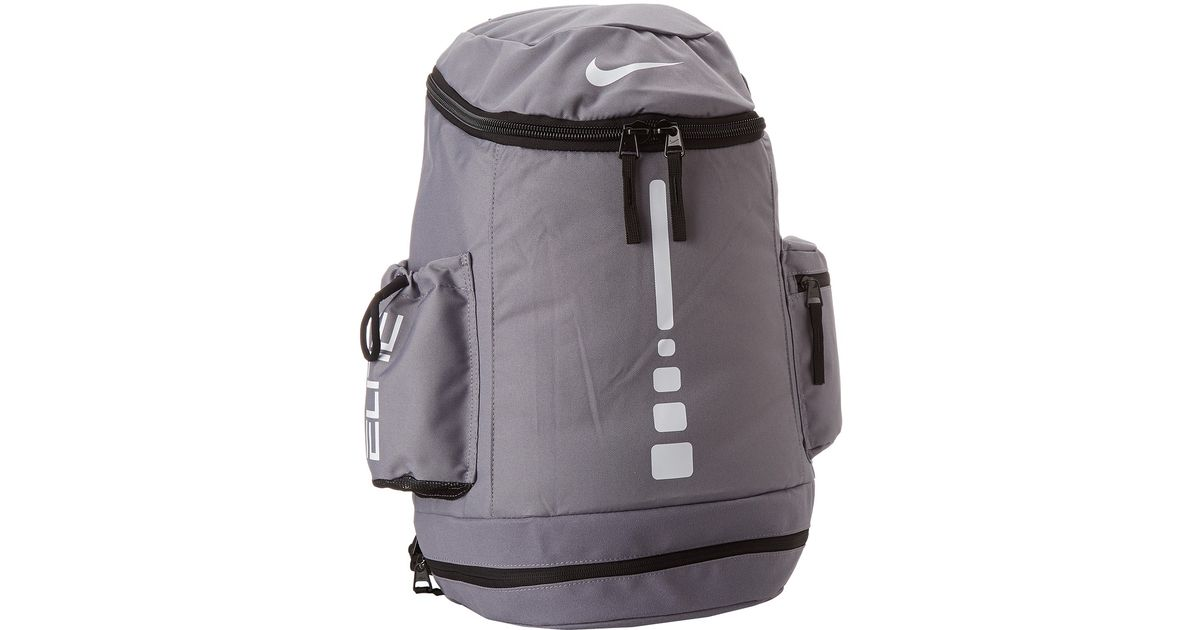 37122f229b Lyst - Nike Hoops Elite Team Backpack in Gray for Men